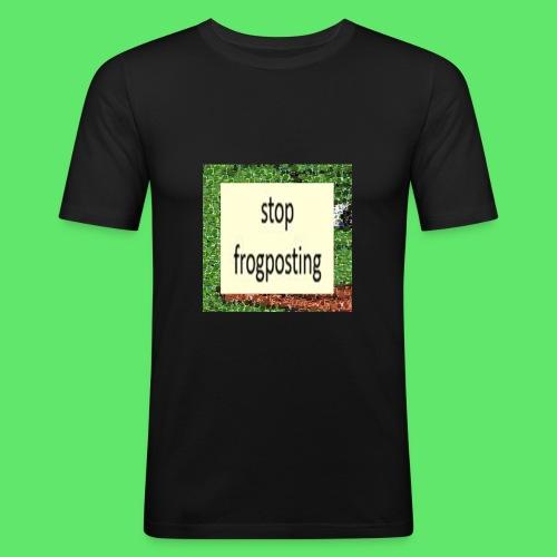 Frogposter - Men's Slim Fit T-Shirt