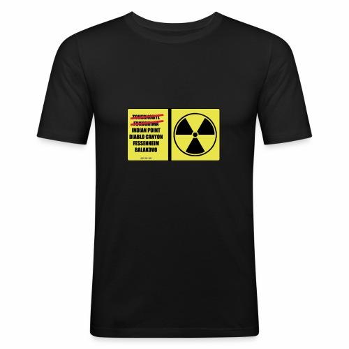 nucleaire - T-shirt près du corps Homme
