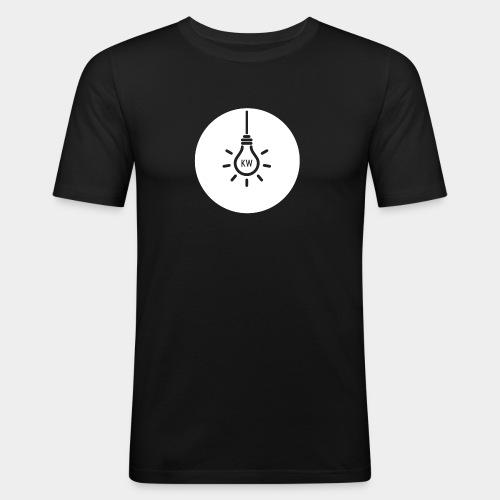 Just KW - Männer Slim Fit T-Shirt