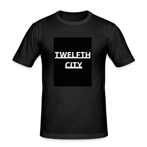 Twelfth City Black - Men's Slim Fit T-Shirt