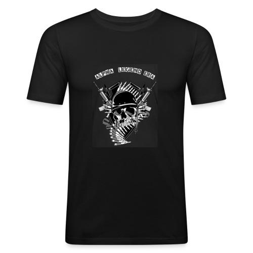 A.L.E. - Männer Slim Fit T-Shirt