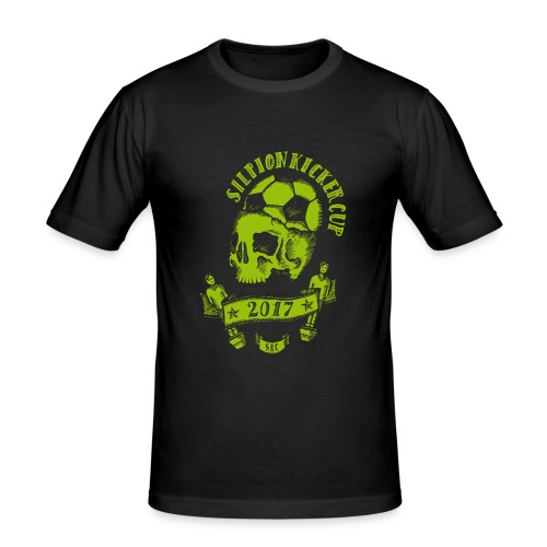 Logo Silpion Kicker Cup 2017 - Männer Slim Fit T-Shirt