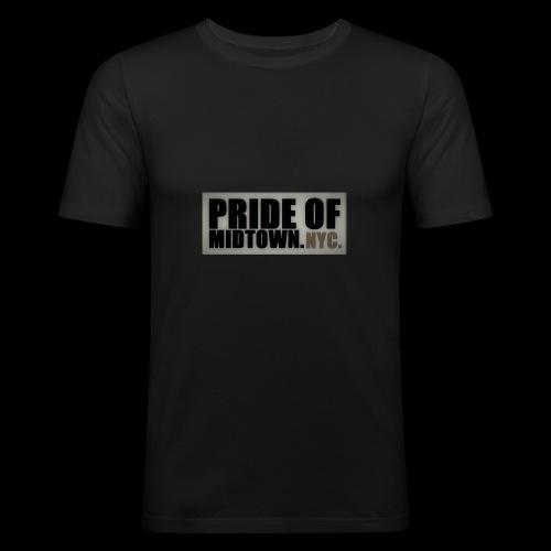 PRIDE OF MIDTOWN. NYC. - Männer Slim Fit T-Shirt