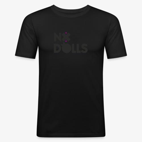NO.DOLLS! Logo - Design #2 - Camiseta ajustada hombre