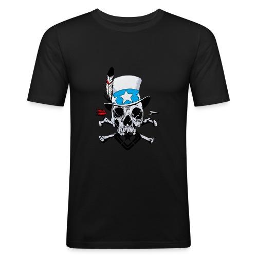 USam - Obcisła koszulka męska