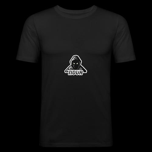 Classic Nova Logo - Men's Slim Fit T-Shirt