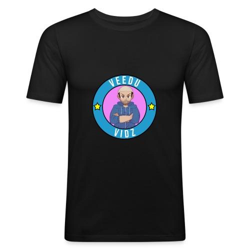 Veedu Vidz Rude Boy logo - Men's Slim Fit T-Shirt