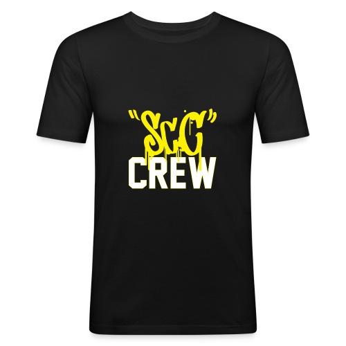 ScC CREW Logo Geel - slim fit T-shirt