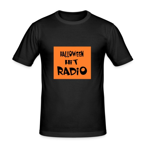 HALLOWEEN HIT RADIO FAN T-SHIRT - Männer Slim Fit T-Shirt