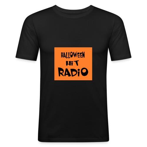 HALLOWEEN HIT RADIO FAN T-SHIRT - Männer Slim Fit T-Shirt
