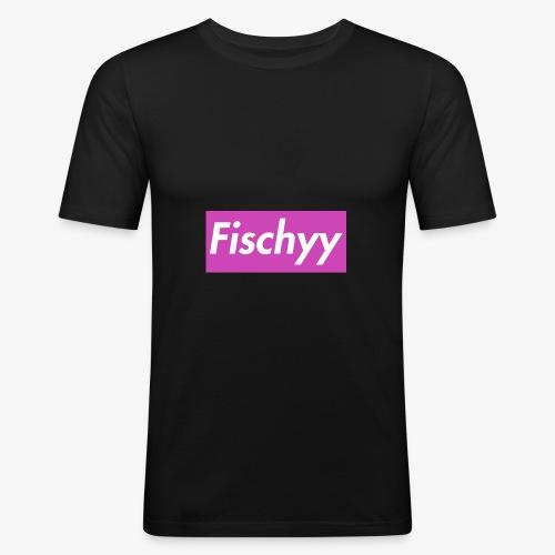 Fischyygirl - Männer Slim Fit T-Shirt