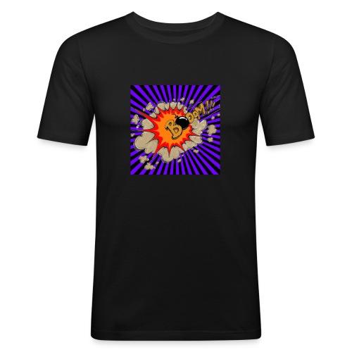LOGO CANAL - Men's Slim Fit T-Shirt