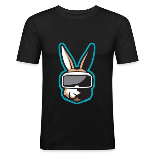 TiG Rabbit logo - Men's Slim Fit T-Shirt
