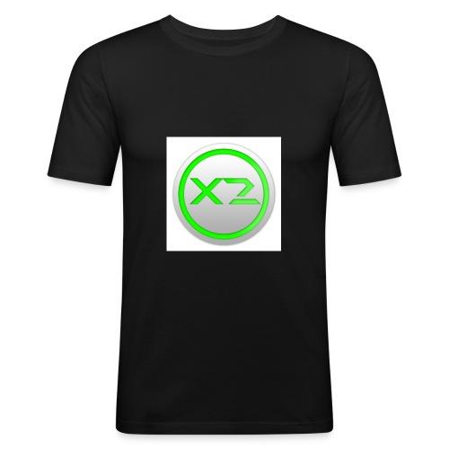 logo ufficiale - Maglietta aderente da uomo
