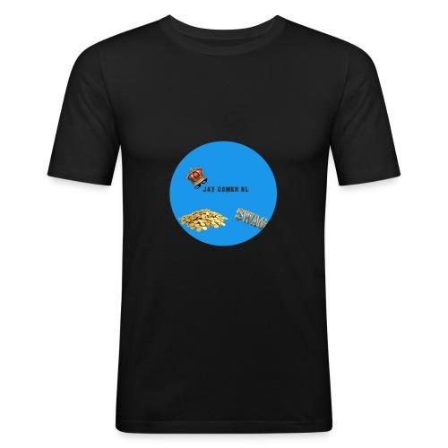 Jaygamernl logo - slim fit T-shirt