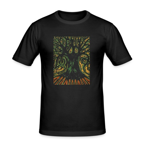 Primitive Tree - Obcisła koszulka męska