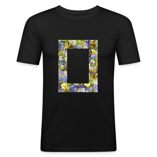 Tasse de flieurs - T-shirt près du corps Homme