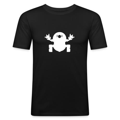 we_want_robots_solo_2 - Men's Slim Fit T-Shirt