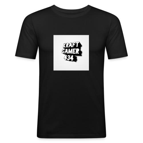 KraftGamer 434 - Männer Slim Fit T-Shirt