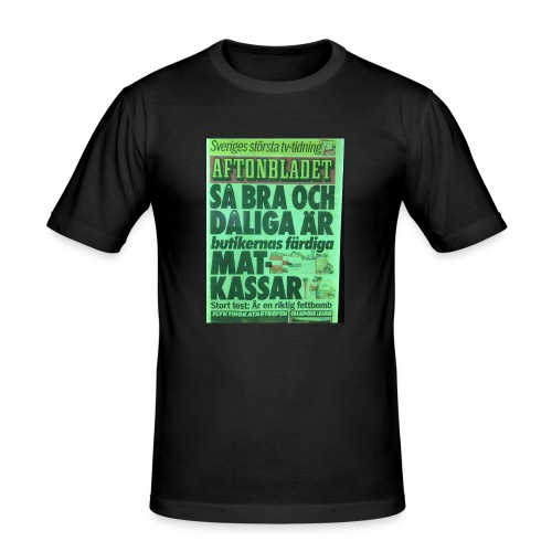 TEST2 - Slim Fit T-shirt herr
