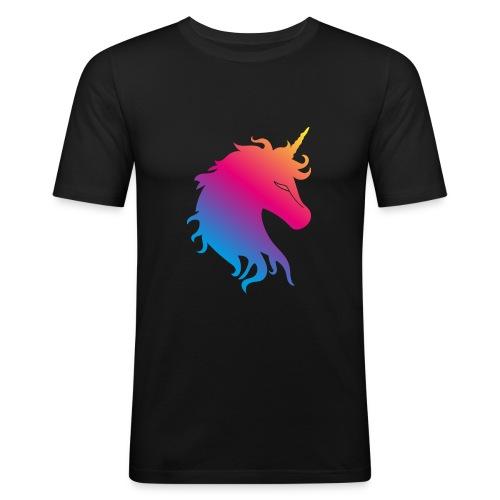 Unicorn - Männer Slim Fit T-Shirt