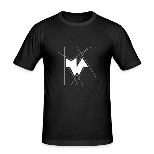 MWA [Logo White] - Männer Slim Fit T-Shirt