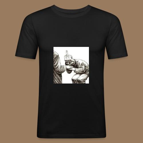 Trust - Männer Slim Fit T-Shirt