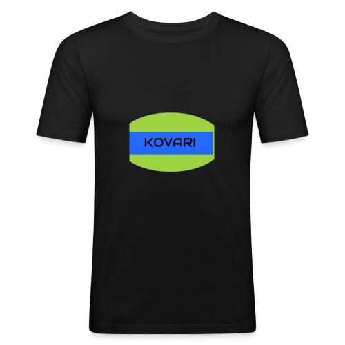 Kovari Logo - Miesten tyköistuva t-paita