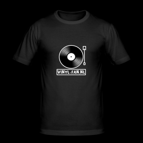 Vinyl-fan.nl - slim fit T-shirt
