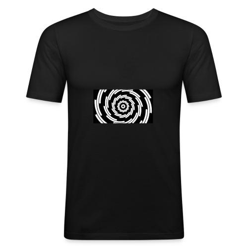 Tourbillons - T-shirt près du corps Homme