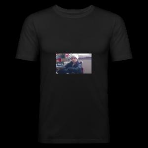 cold boi - Slim Fit T-shirt herr