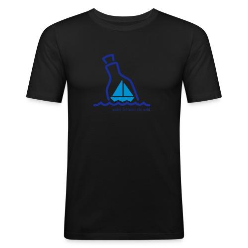 faulehaut logo - Männer Slim Fit T-Shirt