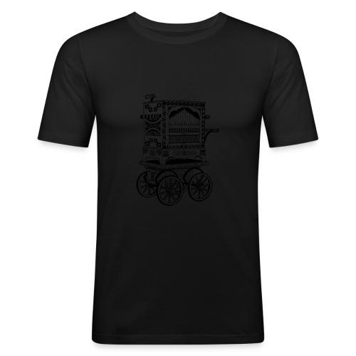 Drehorgel - Männer Slim Fit T-Shirt