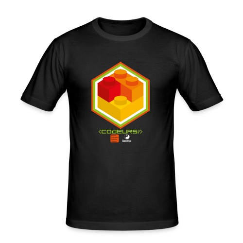 Esprit Club Brickodeurs - Tee shirt près du corps Homme
