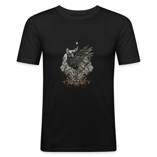 Thenest - T-shirt près du corps Homme