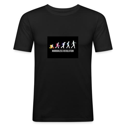 mirrorless evolution - Camiseta ajustada hombre