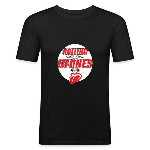 Keep on rollin! - Männer Slim Fit T-Shirt