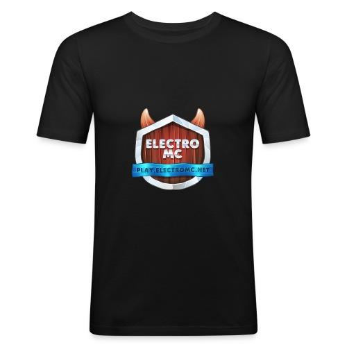 ElectroMC Logo - slim fit T-shirt