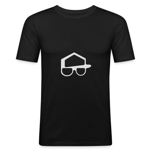 Offisiell p0kker - Slim Fit T-skjorte for menn