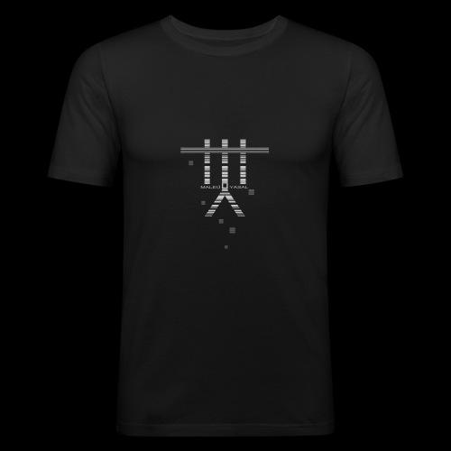 Maleu' Yasal Indigo Vendetta - Männer Slim Fit T-Shirt