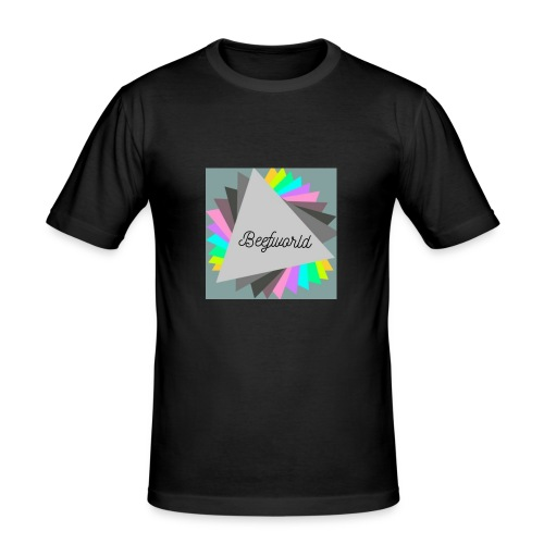beefworld - Men's Slim Fit T-Shirt