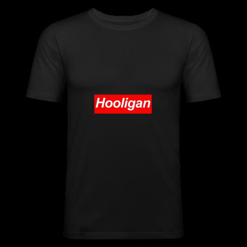 Hooligan - Männer Slim Fit T-Shirt