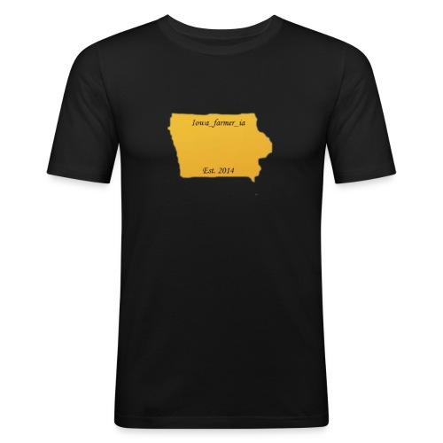 Iowa_Farmer_IA - Men's Slim Fit T-Shirt