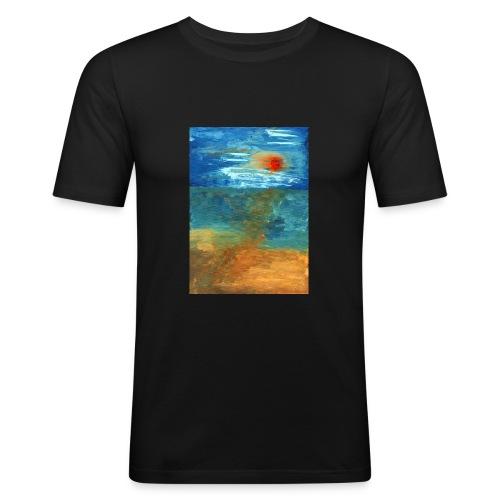 It Was a Sea - Obcisła koszulka męska