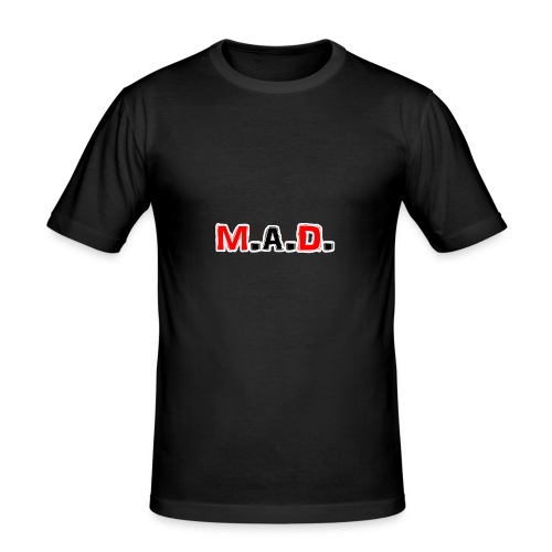 MAD logo - Men's Slim Fit T-Shirt