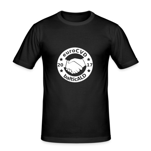 Joint EuroCVD-BalticALD conference womens t-shirt - Men's Slim Fit T-Shirt
