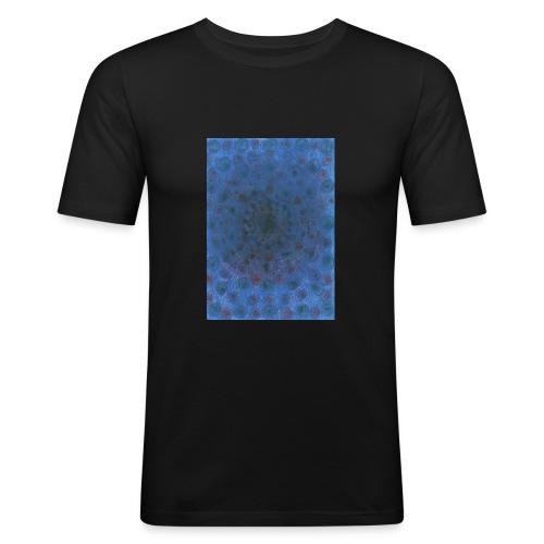 Blue Sky - Obcisła koszulka męska