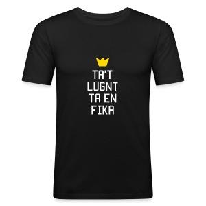 Ta't Lugnt Ta En Fika - Männer Slim Fit T-Shirt
