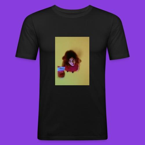 want sum? - Männer Slim Fit T-Shirt