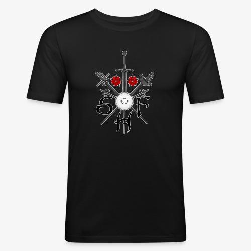 SHF Logo - Men's Slim Fit T-Shirt